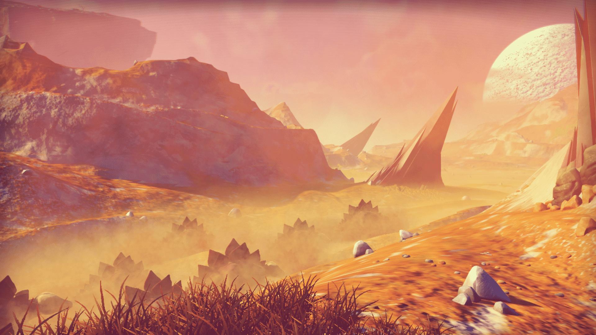 A herd of alien beasts