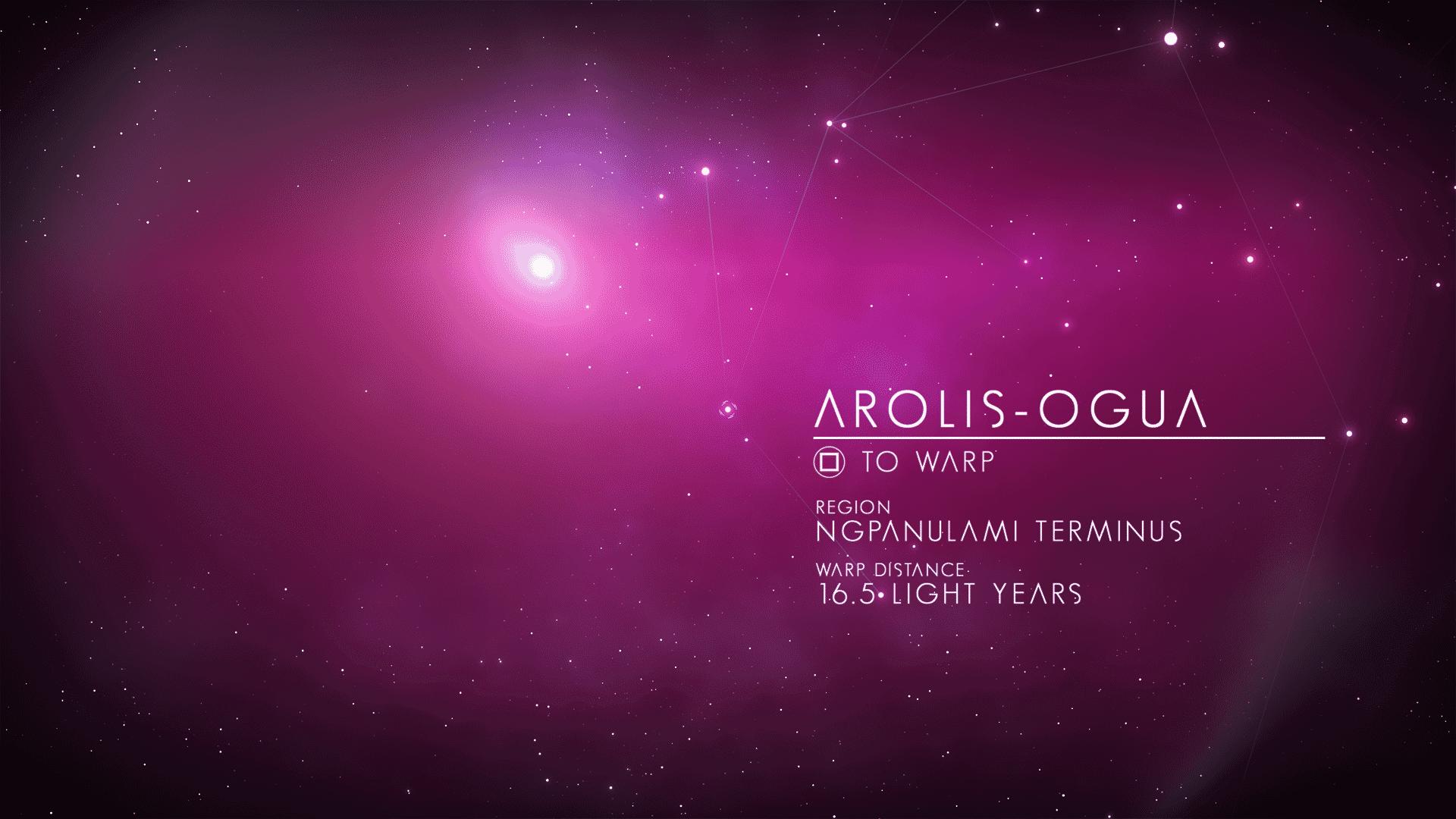 Galactic map in purple