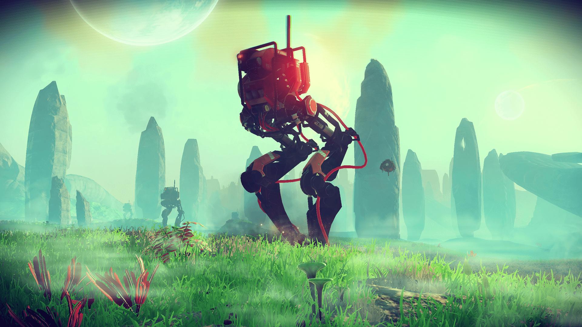 Gigantic robot walker