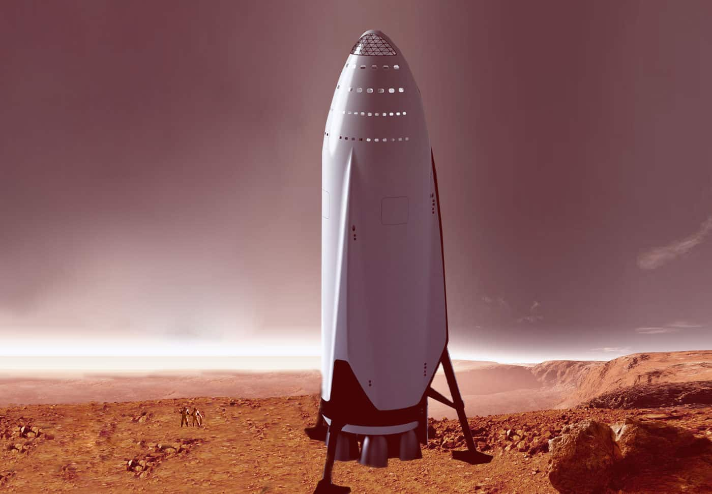 The Interplanetary Transport System (ITS) Elon Musk hopes will take us to Mars